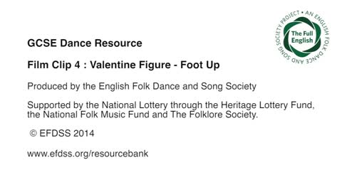 Film Clip 4: Valentine - Foot Up