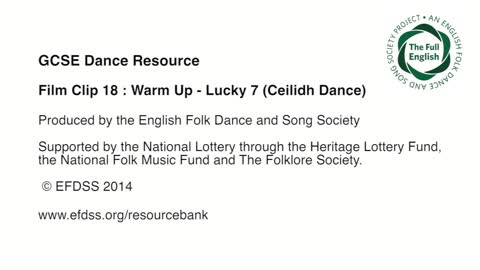Warm Up 7: Lucky 7 (Ceilidh Dance)