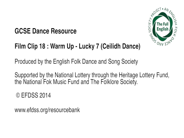 Film Clip 18: Lucky 7 (Ceilidh Dance)