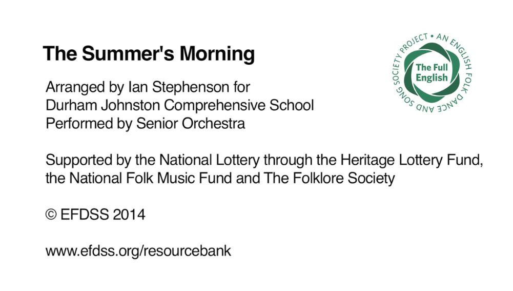 The Summer's Morning - Durham Johnston Comprehensive School
