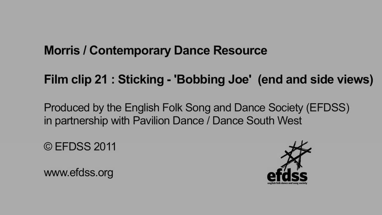 Film 21: Sticking - Bobbing Joe